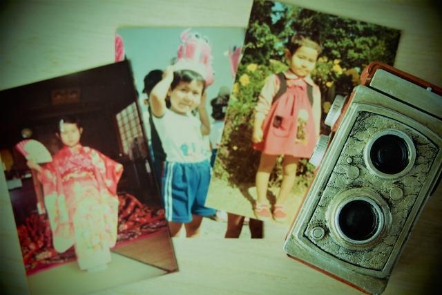 子供時代の懐かしい写真